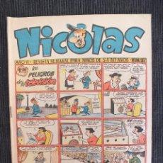 Giornalini: NICOLAS Nº 137 EDICIONES CLIPER. Lote 54666082