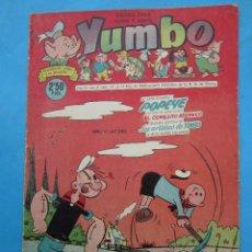 Tebeos: YUMBO , NUMERO 240 , EDICIONES CLIPER , ORIGINAL. Lote 54709874