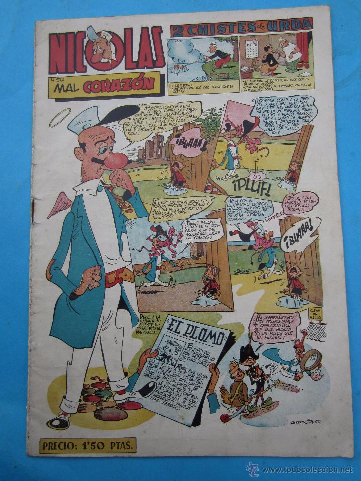 NICOLAS , NUMERO 50 , EDICIONES CLIPER , VER FOTOS (Tebeos y Comics - Cliper - Nicolas)