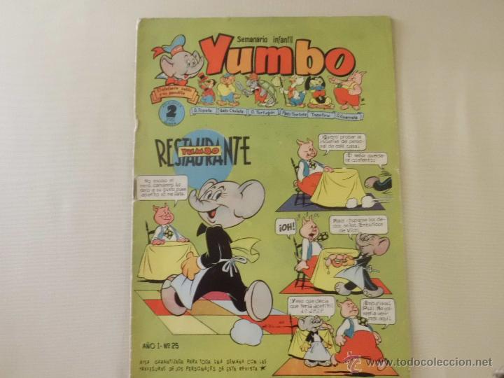YUMBO Nº 25 CLIPER (Tebeos y Comics - Cliper - Yumbo)