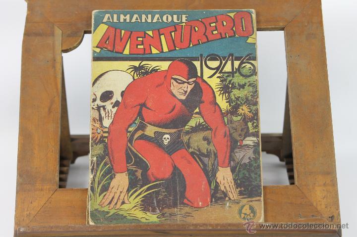6243 - COMIC AVENTURERO ALMANAQUE. VV.AA. EDIT. HISPANO AMERICANA. 1946. (Tebeos y Comics - Cliper - Aventurero)