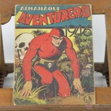 Tebeos: 6243 - COMIC AVENTURERO ALMANAQUE. VV.AA. EDIT. HISPANO AMERICANA. 1946.. Lote 49352452