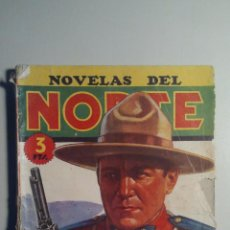 Tebeos: NOVELAS DEL NORTE - Nº 12 - SANGRE EN LA ESTEPA - 1ª EDICIÓN, 1.946. Lote 54830882