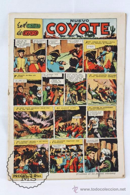 CÓMIC EL COYOTE - EN EL CASTILLO DE OXFORD. Nº 120 - ED. CLIPER, AÑO 1952 (Tebeos y Comics - Cliper - El Coyote)