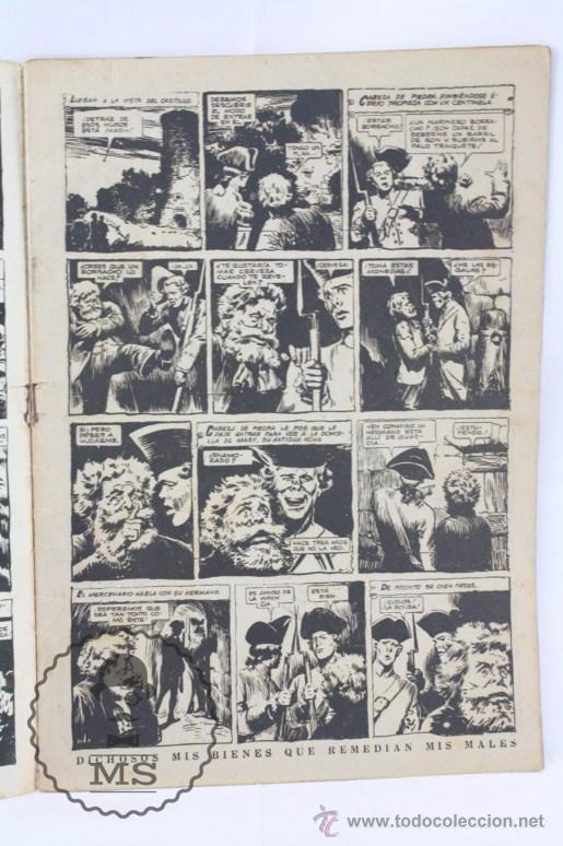 Tebeos: Cómic El Coyote - En el Castillo de Oxford. Nº 120 - Ed. Cliper, Año 1952 - Foto 4 - 54895692