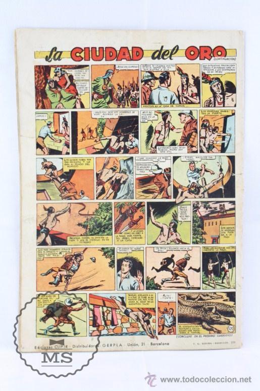 Tebeos: Cómic El Coyote - En el Castillo de Oxford. Nº 120 - Ed. Cliper, Año 1952 - Foto 5 - 54895692