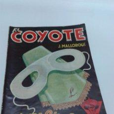 Tebeos: EL COYOTE. 1A. EDICION 1947. Nº 44. MASCARA BLANCA.. Lote 54954429