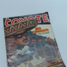 Tebeos: EL COYOTE. 1A. EDICION 1948. Nº 64. RIO TURBULENTO.. Lote 54955876