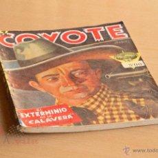 Tebeos: EL COYOTE - Nº 9 - EL EXTERMINIO DE LA CALAVERA. Lote 55048572