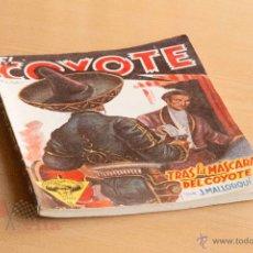 Tebeos: EL COYOTE - Nº 17 - TRAS LA MÁSCARA DEL COYOTE. Lote 55049296