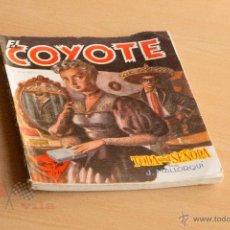 Tebeos: EL COYOTE - Nº 24 - TODA UNA SEÑORA - 1ª EDICIÓN 1946. Lote 55051716