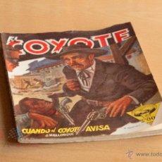Tebeos: EL COYOTE - Nº 27 - CUANDO EL COYOTE AVISA. Lote 55051773