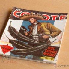 Tebeos: EL COYOTE - Nº 55 - TRES PLUMAS NEGRAS - 1ª EDICIÓN 1947. Lote 55052170