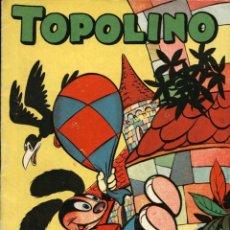 Tebeos: ARCHIVO (570): TOPOLINO Nº 9 (CLIPER, 1950). Lote 55318761