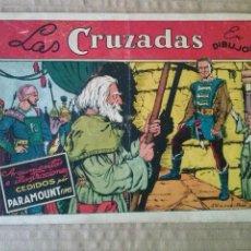 Tebeos: PELICULAS FAMOSAS .Nº 3 - LAS CRUZADAS - GERPLA , CLIPER -ORIGINAL - TA. Lote 55322756