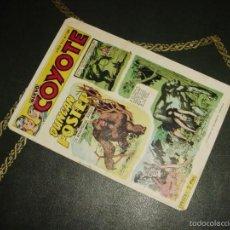 Tebeos: EL COYOTE (CLIPER - 1949). Nº 189 ¡¡ EL ULTIMO, IMPOSIBLE DE CONSEGUIR !!. Lote 55343991