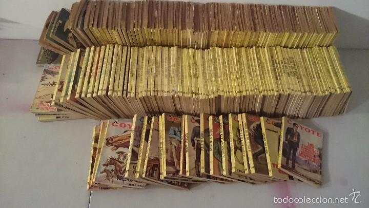 EL COYOTE NOVELAS COLECCION COMPLETA EDICIONES CID 192 NÚMEROS (Tebeos y Comics - Cliper - El Coyote)