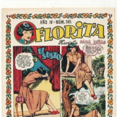 Tebeos: FLORITA Nº 145. CLIPER 1949.. Lote 56500531