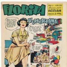 Tebeos: FLORITA Nº 230. CLIPER 1949.. Lote 56508434