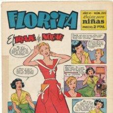 Tebeos: FLORITA Nº 265. CLIPER 1949.. Lote 56566763
