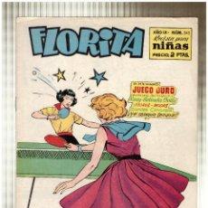 Tebeos: FLORITA Nº 345. CLIPER 1949.. Lote 56993383