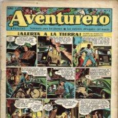 BDs: AVENTURERO Nº 2 - ALERTA A LA TIERRA - EDICIONES FUTURO 1953 (CLIPER) - ORIGINAL - VER DESCRIPCION. Lote 57193944