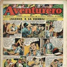Tebeos: AVENTURERO Nº 3 - ALERTA A LA TIERRA - EDICIONES FUTURO 1953 (CLIPER) - ORIGINAL - VER DESCRIPCION. Lote 57194034