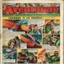 Tebeos: AVENTURERO Nº 9 - ALERTA A LA TIERRA - EDICIONES FUTURO 1953 (CLIPER) - ORIGINAL - VER DESCRIPCION. Lote 57194241