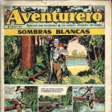 Tebeos: AVENTURERO Nº 15 - SOMBRAS BLANCAS - EDICIONES FUTURO 1953 (CLIPER) - ORIGINAL - VER DESCRIPCION. Lote 57194376