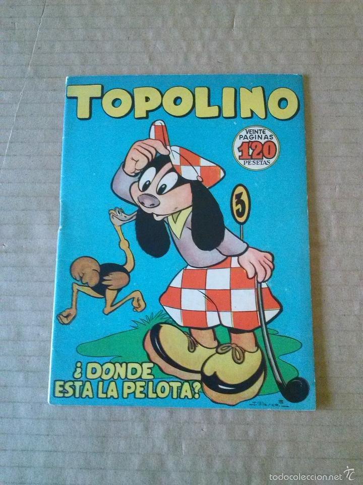 TOPOLINO Nº 8 - LIPER ,GERPLA - ORIGINAL- TA (Tebeos y Comics - Cliper - Otros)