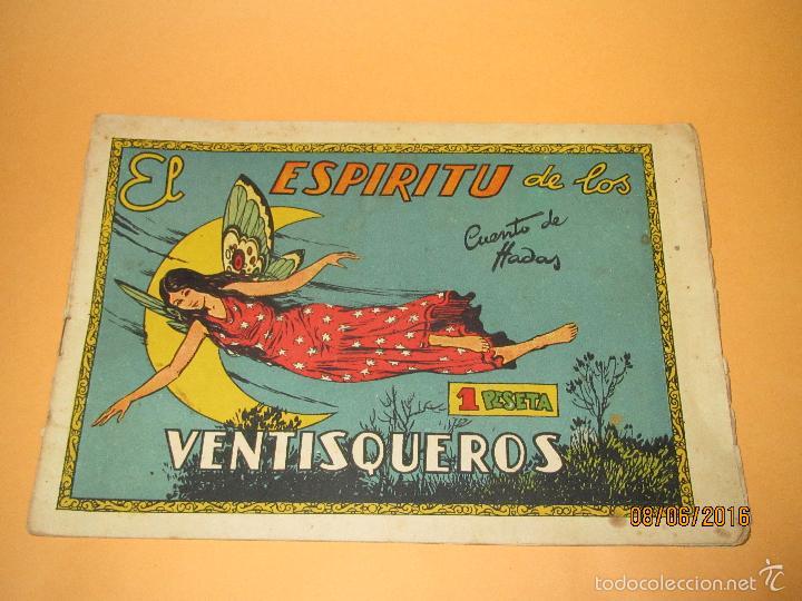 EL ESPIRITU DE LOS VENTISQUEROS DE CUENTOS DE HADAS EDITORIAL CISNE CLIPER - AÑO 1940S. (Tebeos y Comics - Cliper - Otros)