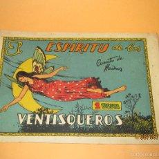 Tebeos: EL ESPIRITU DE LOS VENTISQUEROS DE CUENTOS DE HADAS EDITORIAL CISNE CLIPER - AÑO 1940S.. Lote 57382499