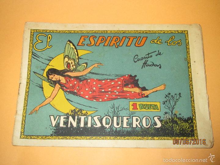 Tebeos: EL ESPIRITU DE LOS VENTISQUEROS de Cuentos de Hadas Editorial CISNE CLIPER - Año 1940s. - Foto 2 - 57382499