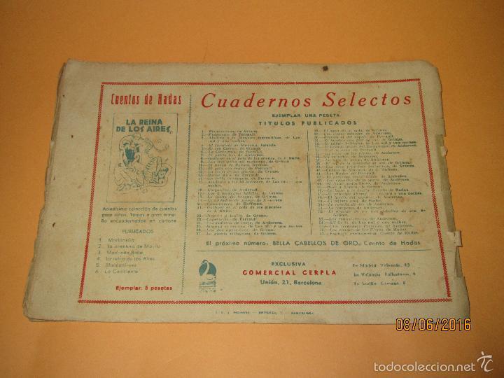 Tebeos: EL ESPIRITU DE LOS VENTISQUEROS de Cuentos de Hadas Editorial CISNE CLIPER - Año 1940s. - Foto 3 - 57382499