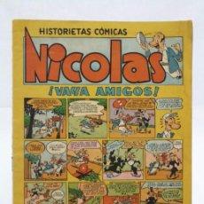 Tebeos - Antiguo Cómic Nicolás - Nº 16. ¡Vaya Amigos! - Ed. Cliper, Años 50 - 57523700