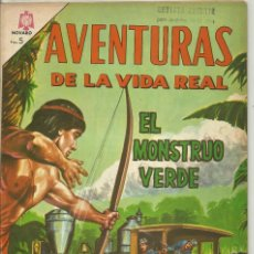 Tebeos: EL MONSTRUO VERDE AVENTURAS DE LA VIDA REAL. Lote 57628807