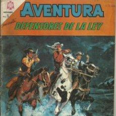 Tebeos: AVENTURA DEFENSORES DE LA LEY. Lote 57628930
