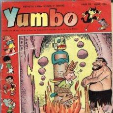 Tebeos: YUMBO Nº 290 - CLIPER 1958 - ORIGINAL - COMO SE VE EN LA FOTO, VER DESCRIPCION. Lote 57651462
