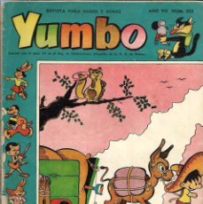 Tebeos: YUMBO Nº 302 - CLIPER 1958 - ORIGINAL - COMO SE VE EN LA FOTO, VER DESCRIPCION. Lote 57651547