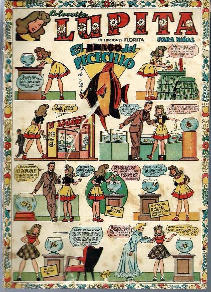 LUPITA Nº 21 - EDICIONES CLIPER 1950 - ORIGINAL - EL AMIGO DEL PECECILLO - VER DESCRIPCION (Tebeos y Comics - Cliper - Otros)