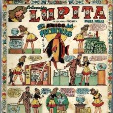 Tebeos: LUPITA Nº 21 - EDICIONES CLIPER 1950 - ORIGINAL - EL AMIGO DEL PECECILLO - VER DESCRIPCION. Lote 57669592