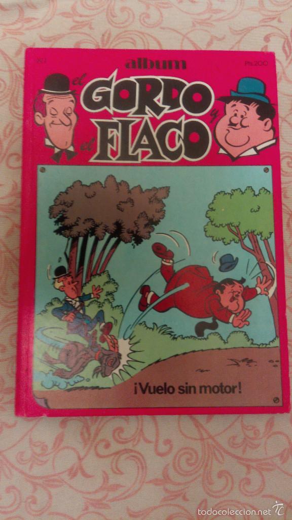 ALBUM EL GORDO Y EL FLACO Nº 1 - EDITORIAL NEW COMIC - ESPAÑA - 1988 (VUELO SIN MOTOR!) (Tebeos y Comics - Cliper - Otros)