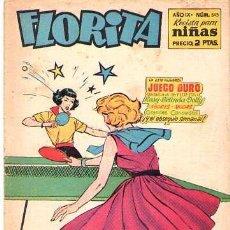 Tebeos: FLORITA (CLIPER) Nº 345. Lote 58443119