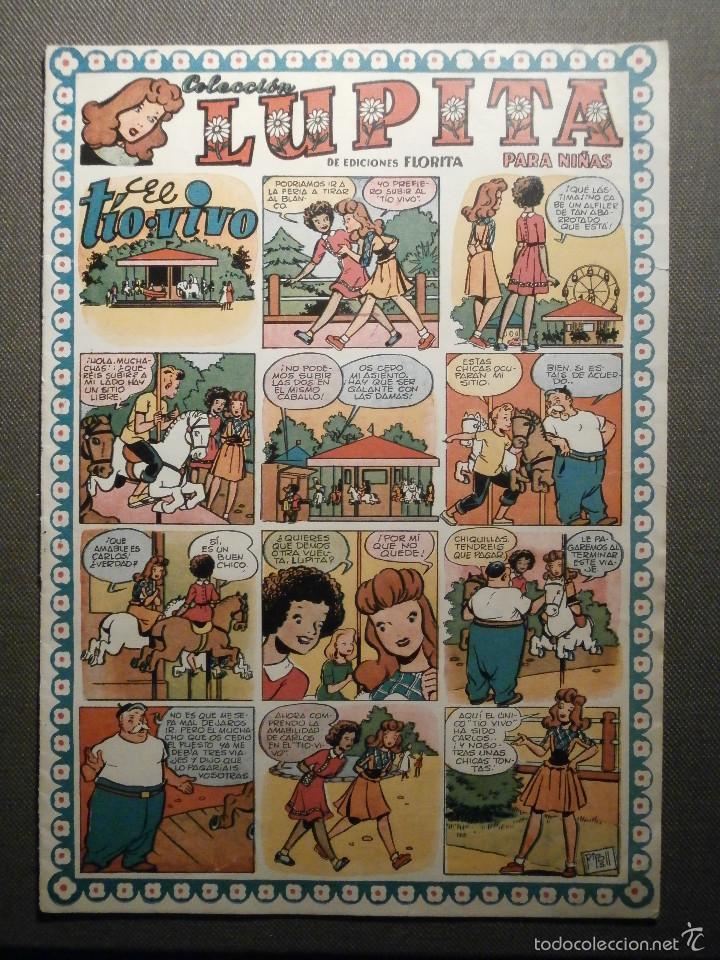TEBEO - LUPITA Nº 12 - EL TÍO VIVO - COLECCIÓN PARA NIÑAS - CLIPER 1950 (Tebeos y Comics - Cliper - Otros)