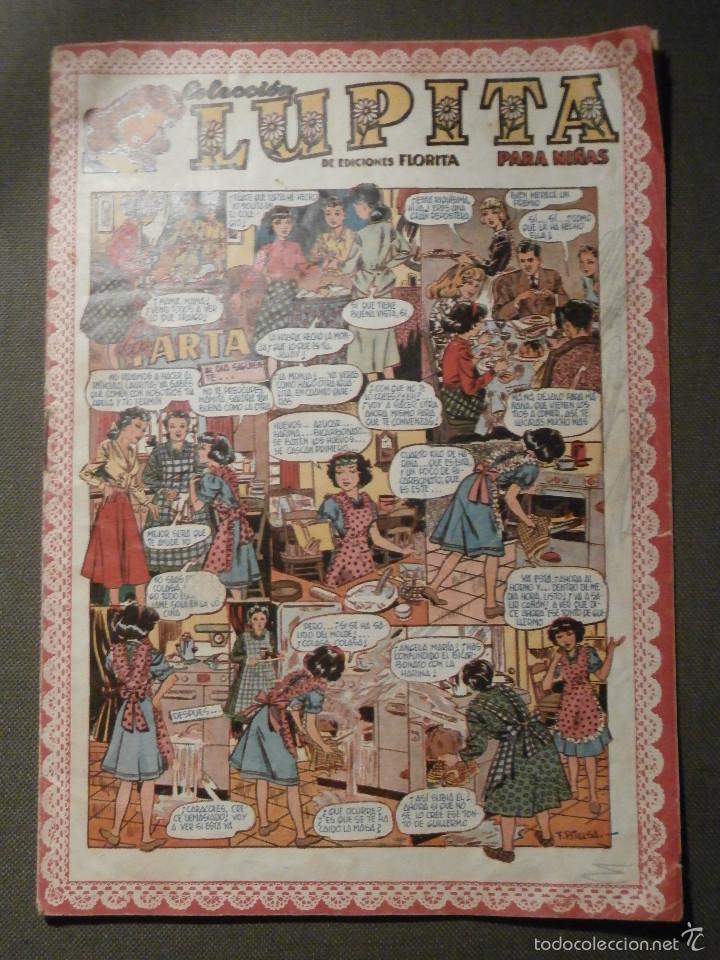 TEBEO - LUPITA Nº 39 - LA TARTA - COLECCIÓN PARA NIÑAS - CLIPER 1950 (Tebeos y Comics - Cliper - Otros)
