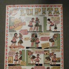 Tebeos: TEBEO - LUPITA Nº 24 - DE EDICIONES FLORITA - LA BASCULA - COLECCIÓN PARA NIÑAS - CLIPER 1950. Lote 58644997
