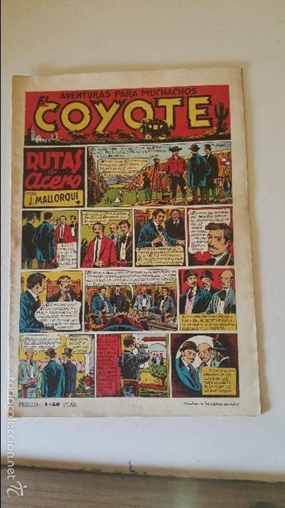 COYOTE - AVENTURAS PARA MUCHACHOS- RUTAS DE ACERO - Nº 2 (Tebeos y Comics - Cliper - El Coyote)