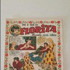 Livros de Banda Desenhada: FLORITA AÑO IV Nº 144. Lote 78860318