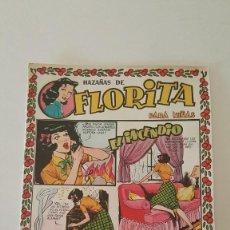 Tebeos: FLORITA HAZAÑAS - EL INCENDIO - Nº 101. Lote 59219060