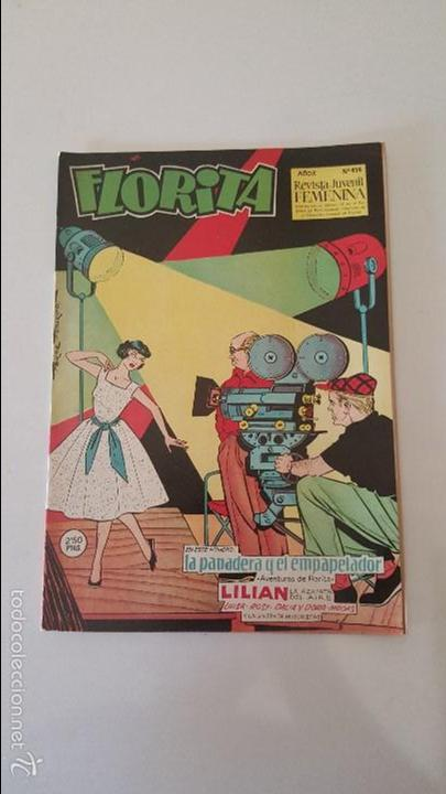 FLORITA AÑO X Nº 414 (Tebeos y Comics - Cliper - Florita)